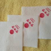 酒店餐饮连锁专用纸巾 方巾 商务用纸 广告纸巾 印刷免费 厂