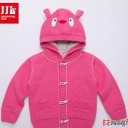 jjlkids/季季乐婴儿针织衫 韩版儿童纯色衣服 十件包邮