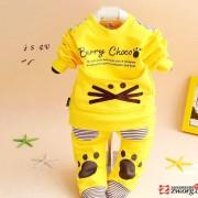 2014婴幼儿春秋装新款儿童男童女童运动套装春秋宝宝衣服婴儿