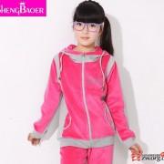 童装女童秋装潮春装2014新款女童韩版大童卫衣服女大童运动套