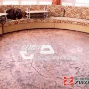 贺援建肯尼亚体育场室外彩色压花地坪压模地坪透水地坪圆满完工