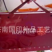 厂家提供房地产类纸袋定做 印制卡纸手拎袋金属钉绳 UV花纹