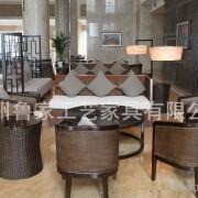 订制美式宾馆家具(样板房、酒店、ktv、别墅、售楼部)绿城房产