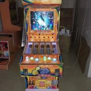 林轲动漫2016款PY2双人鱼机5管道香烟、可乐自动贩卖礼品游戏机 鱼机