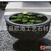 厂家定制 公司 工厂 酒店 银行 家居风水添福转运石雕花盆