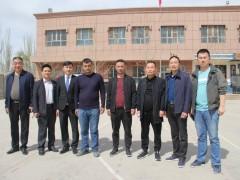 喀什温州商会陈会长去扶贫村