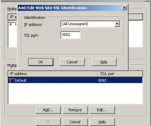 如何在IIS 6中配置SSL主机标头