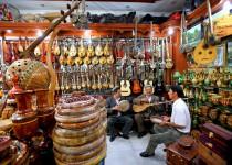 喀什手工艺品-乐器