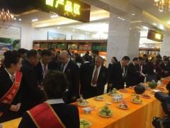 喀什国际农博会参展现场,喀什畜牧业龙头企业,喀什知心食品