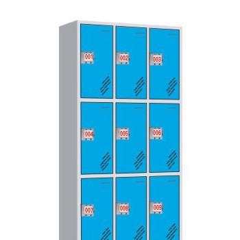 FZ-W085九门插卡锁更衣柜-喀什办公家具,喀什方正办公家具