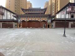 商业街中庭小区通道大门