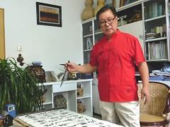 喀什云头条-边陲重镇诗、书、画、杰出人物孙学武专访