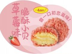 2020喀什香曲尔草莓味脆酥小贝新品展示