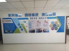 华运集团办公室形象墙 (1)